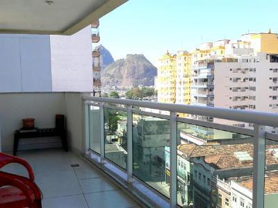 Botafogo, 3 quartos, 1 vaga, 110 m²