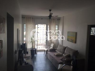 Rio Comprido, 1 quarto, 1 vaga, 66 m²