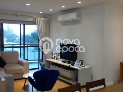 Barra da Tijuca, 3 quartos, 2 vagas, 107 m²