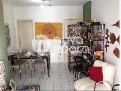 Tijuca, 2 quartos, 1 vaga, 74 m²