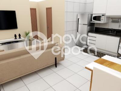 Engenho de Dentro, 2 quartos, 1 vaga, 55 m² 531929