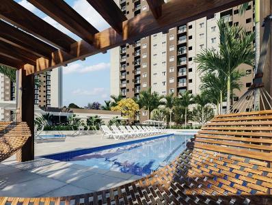 Jacarepaguá, 2 quartos, 1 vaga, 45 m²