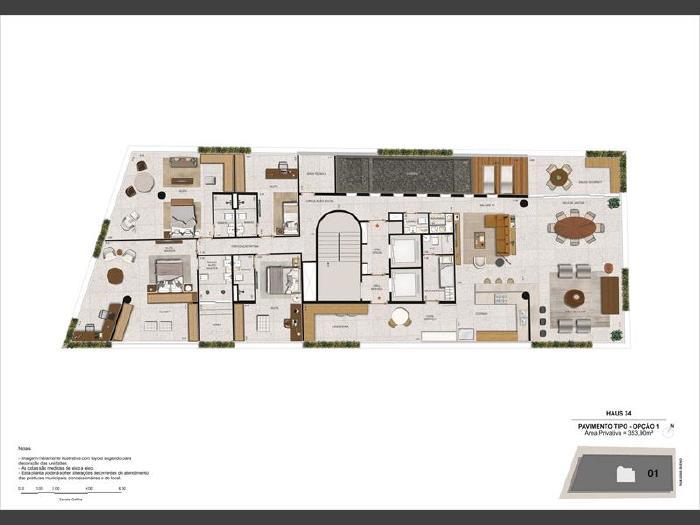 Foto 7: Botafogo, 4 quartos, 3 vagas, 353 m²