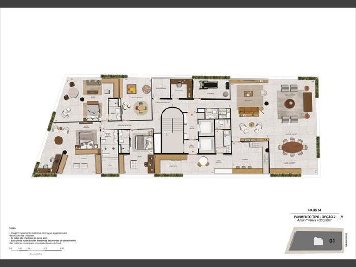 Foto 8: Botafogo, 4 quartos, 3 vagas, 353 m²