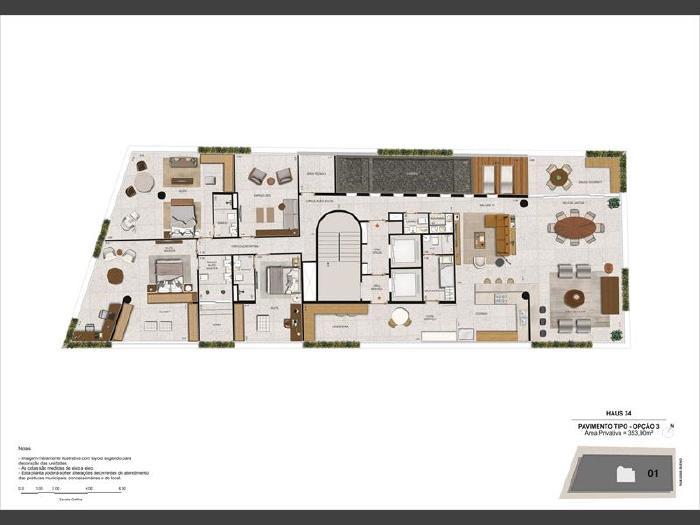 Foto 9: Botafogo, 4 quartos, 3 vagas, 353 m²
