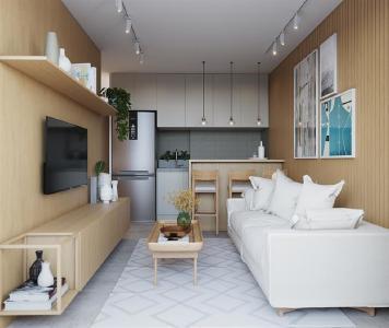 Jardim Botânico, 1 quarto, 41 m² 553993